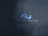 Elite Construction Services or ECS Logo - Entry #136