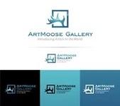 ArtMoose Gallery Logo - Entry #2