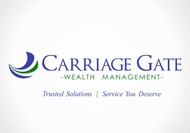 Carriage Gate Wealth Management Logo - Entry #93