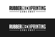 Rubberneck Printing Logo - Entry #10