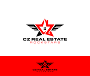 CZ Real Estate Rockstars Logo - Entry #191
