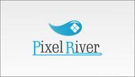Pixel River Logo - Online Marketing Agency - Entry #112