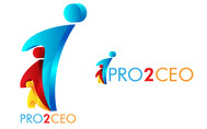 PRO2CEO Personal/Professional Development Company  Logo - Entry #86