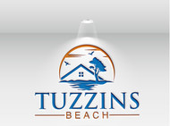 Tuzzins Beach Logo - Entry #12