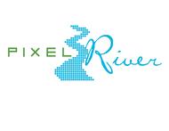 Pixel River Logo - Online Marketing Agency - Entry #139