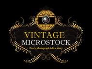 Vintage Microstock Logo - Entry #71