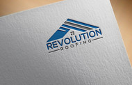 Revolution Roofing Logo - Entry #451