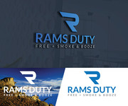 Rams Duty Free + Smoke & Booze Logo - Entry #67