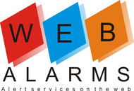 Logo for WebAlarms - Alert services on the web - Entry #63