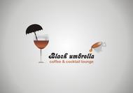 Black umbrella coffee & cocktail lounge Logo - Entry #10