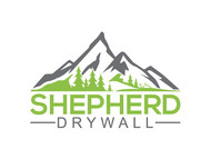 Shepherd Drywall Logo - Entry #117