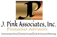 J. Pink Associates, Inc., Financial Advisors Logo - Entry #25