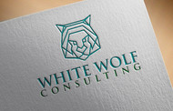 White Wolf Consulting (optional LLC) Logo - Entry #460