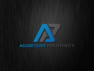 Aggressive Positivity  Logo - Entry #62