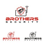 Brothers Security Logo - Entry #182
