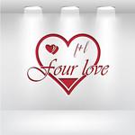 Four love Logo - Entry #333