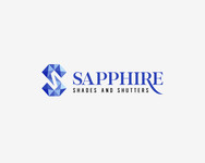 Sapphire Shades and Shutters Logo - Entry #114