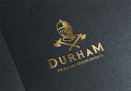 Durham Financial Centre Knights Logo - Entry #36