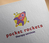 Little Rockets Therapy Services Logo - Entry #55