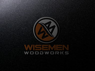 Wisemen Woodworks Logo - Entry #202
