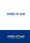 "Open Road Wealth Services, LLC  (The ""LLC"" can be dropped for design purposes.) Logo - Entry #114"