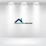 Revolution Roofing Logo - Entry #508