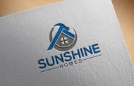 Sunshine Homes Logo - Entry #224
