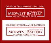 Midwest Battery Logo - Entry #48