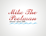 Mike the Poolman  Logo - Entry #4