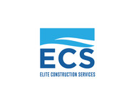 Elite Construction Services or ECS Logo - Entry #108