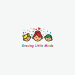 Growing Little Minds Early Learning Center or Growing Little Minds Logo - Entry #149