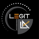 Legit Accessories Logo - Entry #104