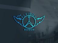 The Flying V Ranch Logo - Entry #39