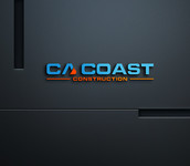 CA Coast Construction Logo - Entry #129