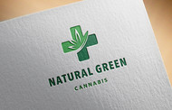 Natural Green Cannabis Logo - Entry #121