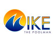 Mike the Poolman  Logo - Entry #144