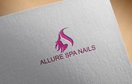 Allure Spa Nails Logo - Entry #179