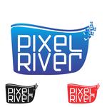 Pixel River Logo - Online Marketing Agency - Entry #136