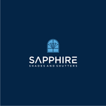 Sapphire Shades and Shutters Logo - Entry #48