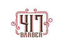 417 Barber Logo - Entry #58