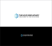 The Hive Mind Apiary Logo - Entry #95