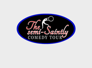 The Semi-Saintly Comedy Tour Logo - Entry #44