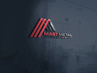 Mast Metal Roofing Logo - Entry #179