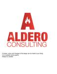 Aldero Consulting Logo - Entry #38