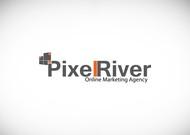 Pixel River Logo - Online Marketing Agency - Entry #103
