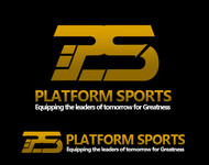 "Platform Sports "" Equipping the leaders of tomorrow for Greatness."" Logo - Entry #63"