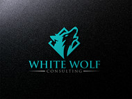 White Wolf Consulting (optional LLC) Logo - Entry #3