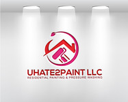 uHate2Paint LLC Logo - Entry #23