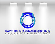 Sapphire Shades and Shutters Logo - Entry #207