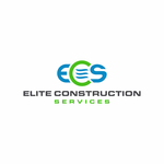 Elite Construction Services or ECS Logo - Entry #354